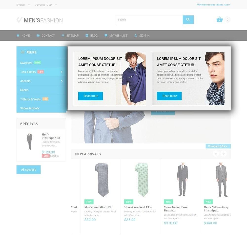 theme - Moda y Calzado - Men's Fashion - para Sitio de Tienda de Ropa - 5