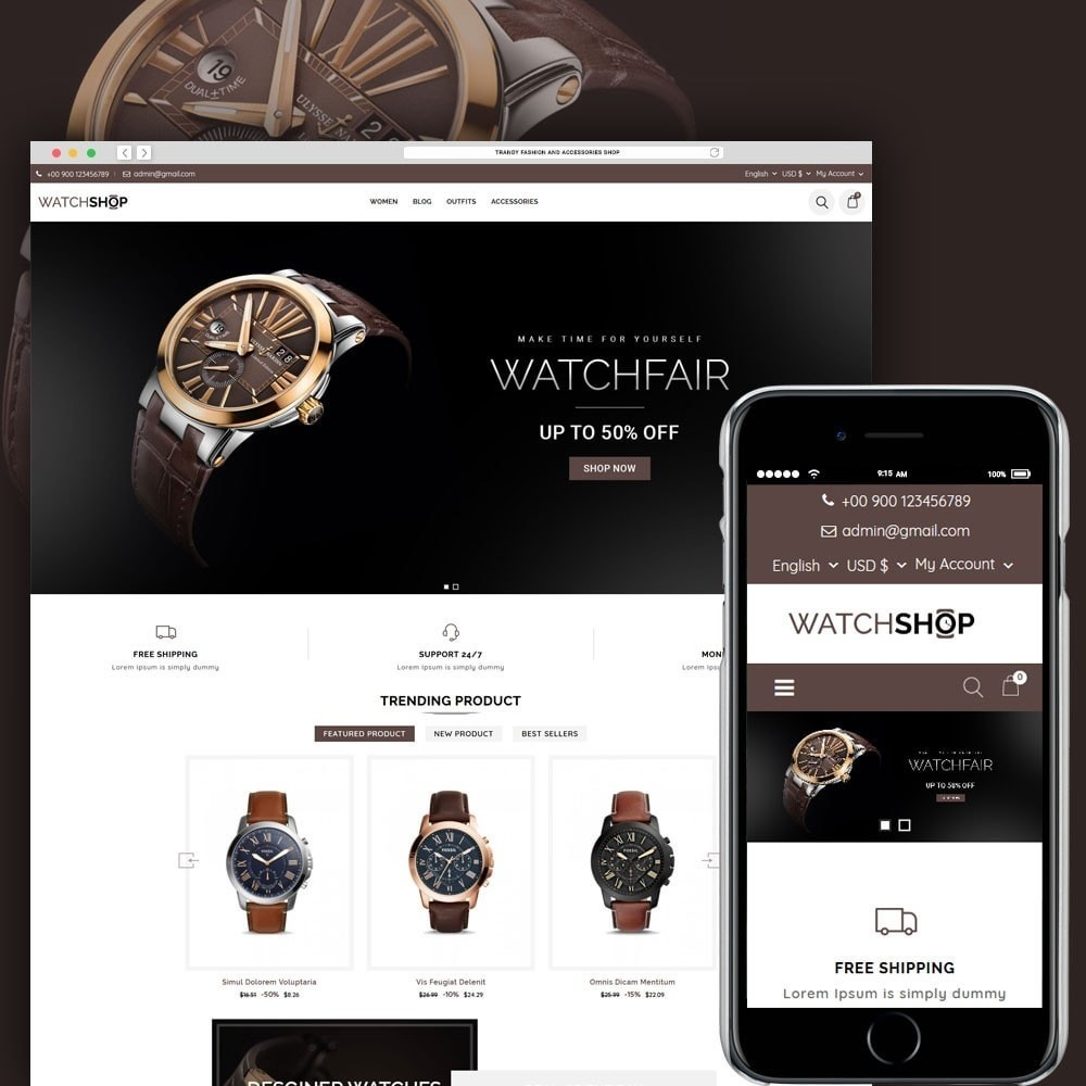 theme - Sieraden & Accessoires - Watch Shop - 1
