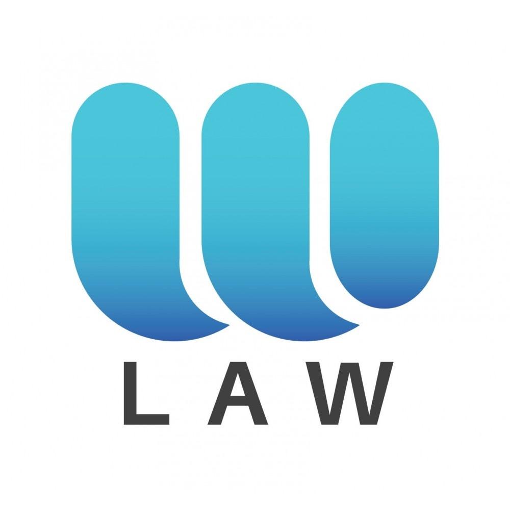 module - Marco Legal (Ley Europea) - RGPD by Webubi - 1