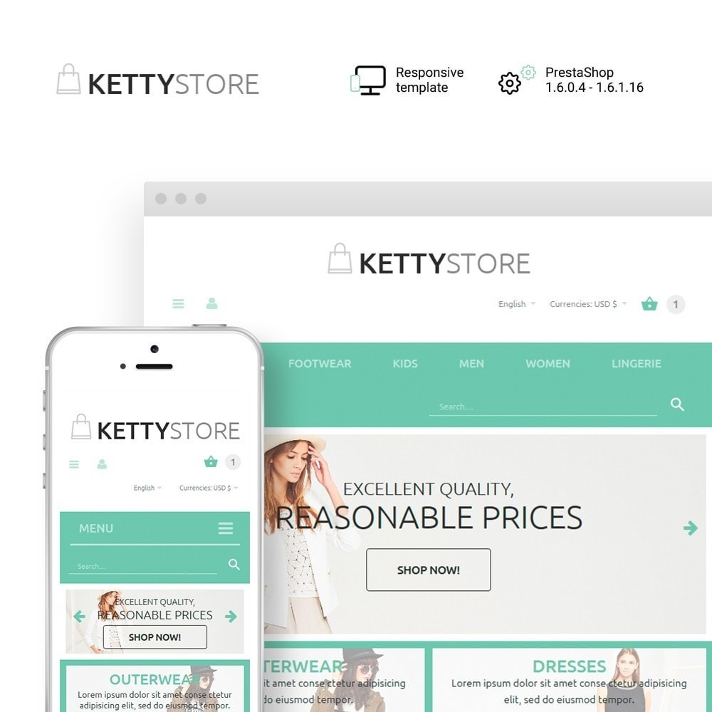 theme - Mode & Schuhe - KettyStore - 1