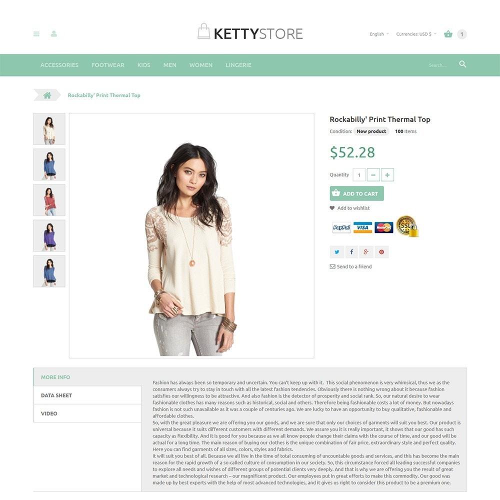 theme - Moda & Calçados - KettyStore - 2