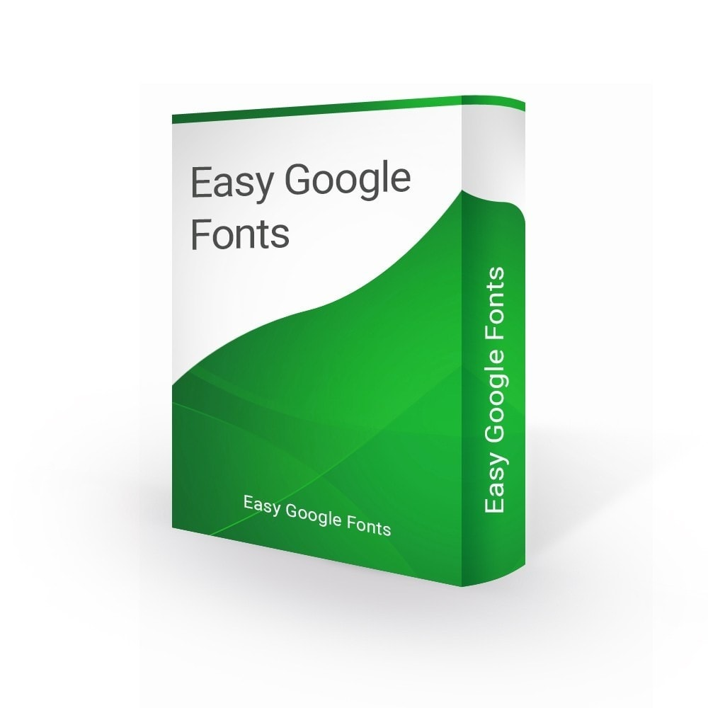 module - Page Customization - Easy Google Fonts - 1