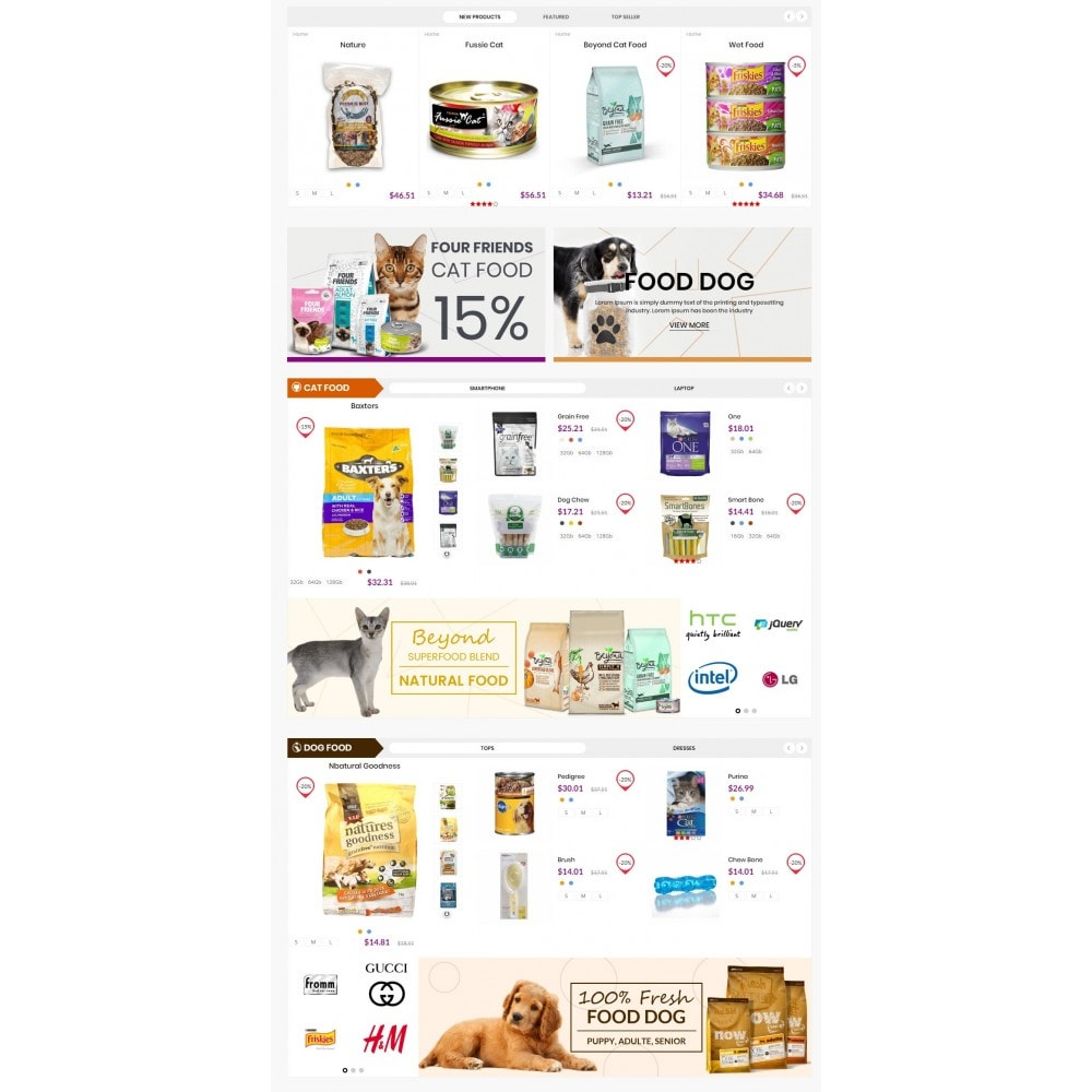 theme - Animals & Pets - Animals & Pets Care Store - 3
