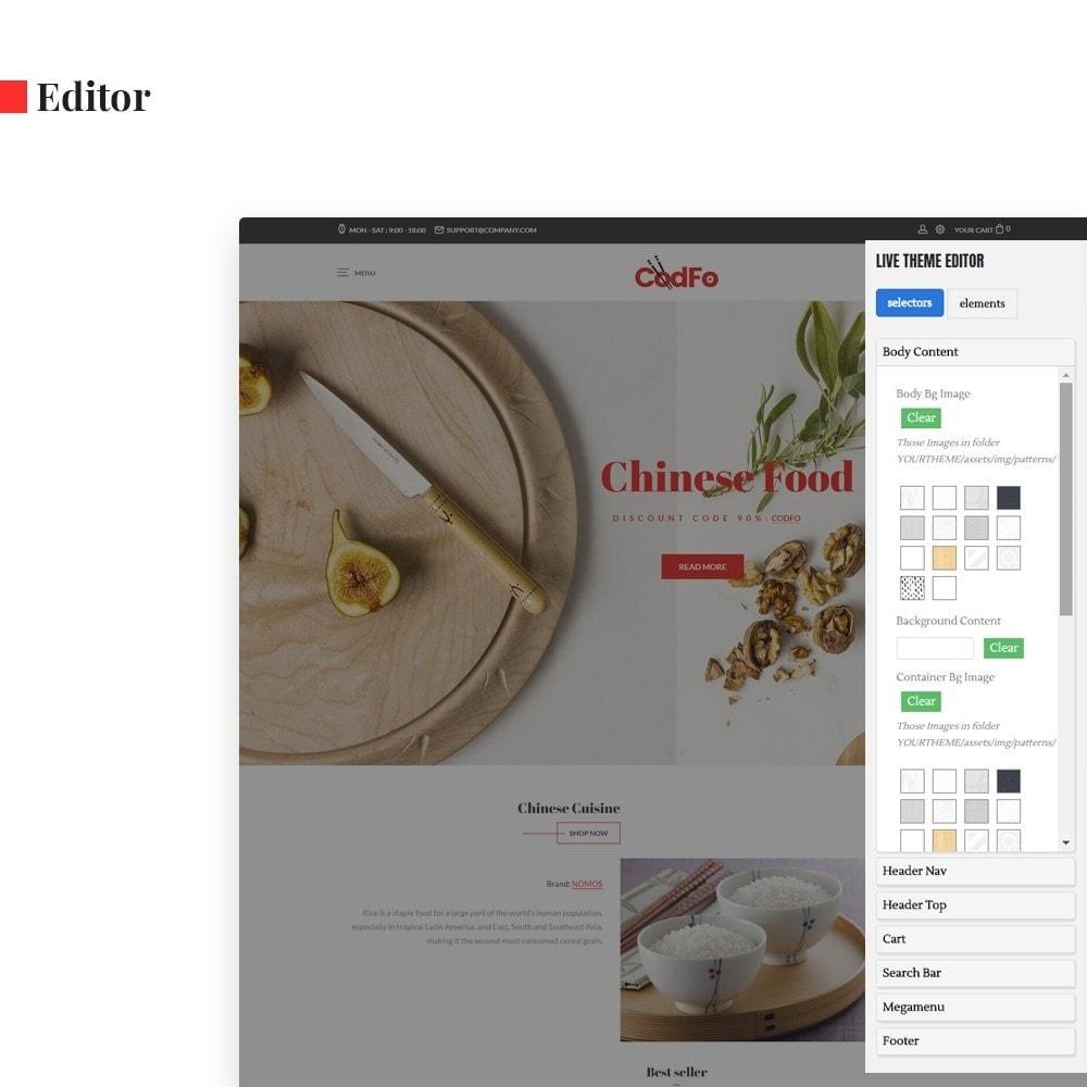 theme - Żywność & Restauracje - Ap Codfo - 3