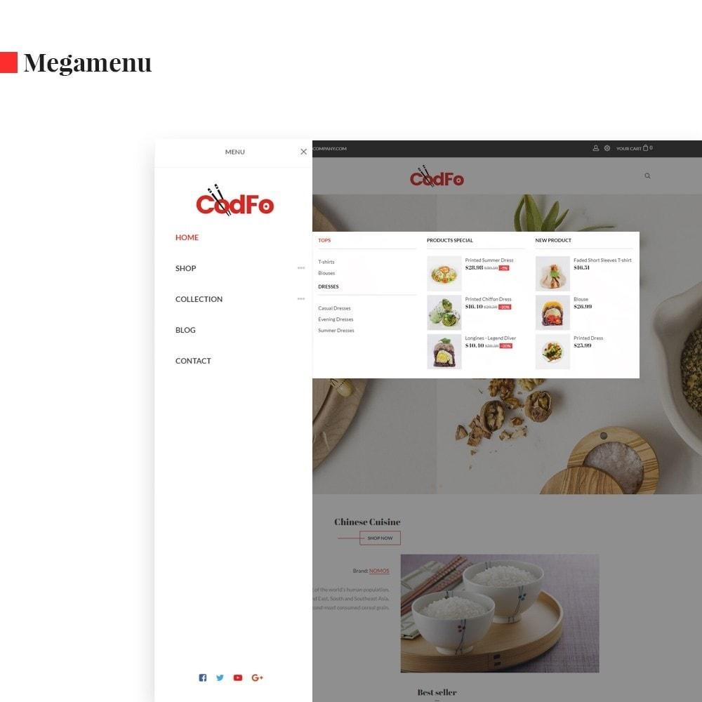 theme - Żywność & Restauracje - Ap Codfo - 4