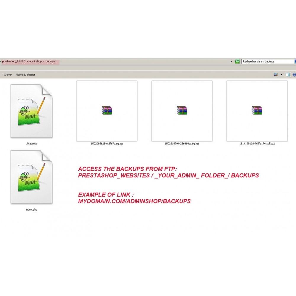 module - Migration de Données & Sauvegarde - DATABASE AUTO BACKUP - 4