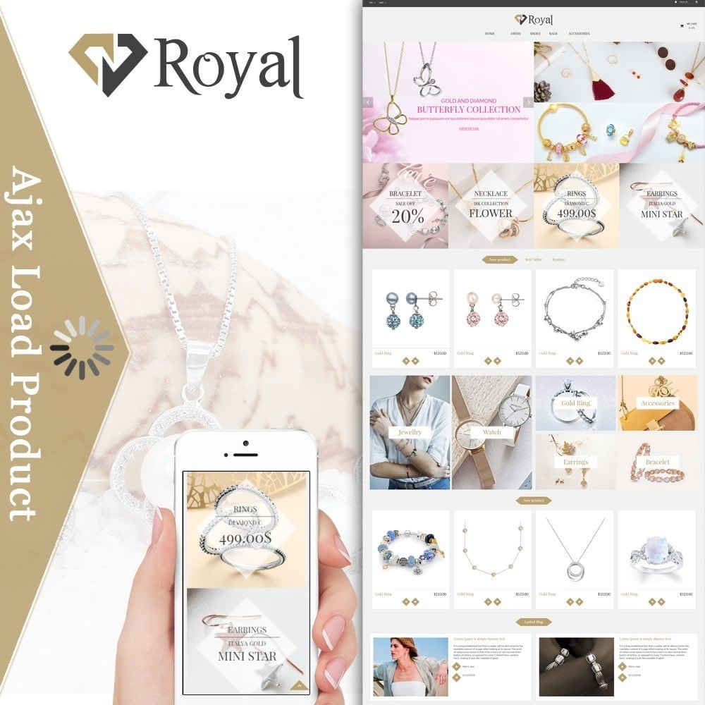 theme - Bellezza & Gioielli - Royal Jewelry & Accessories - 1