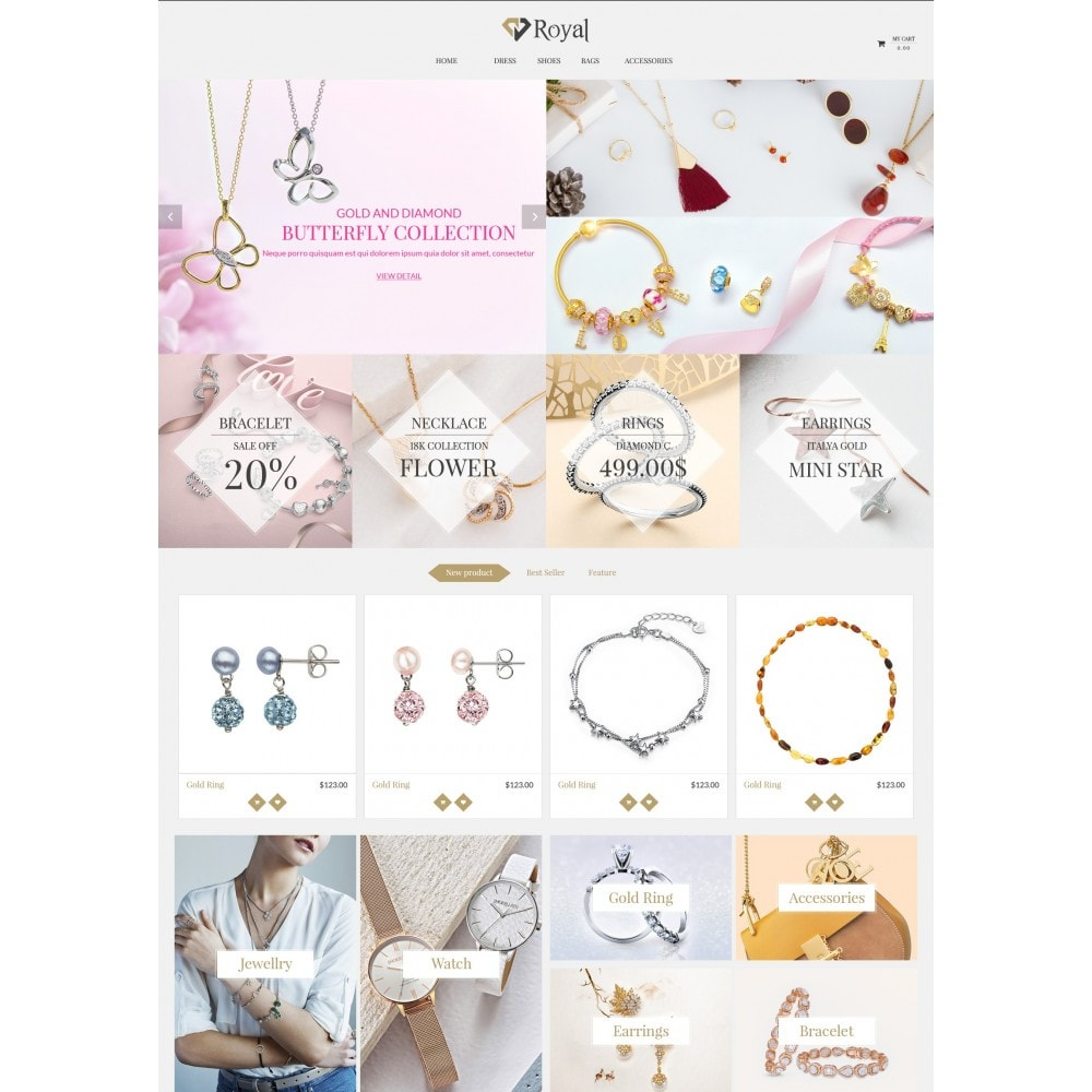 theme - Bellezza & Gioielli - Royal Jewelry & Accessories - 3