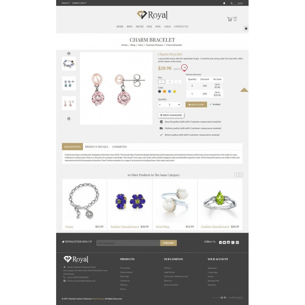 theme - Bellezza & Gioielli - Royal Jewelry & Accessories - 4