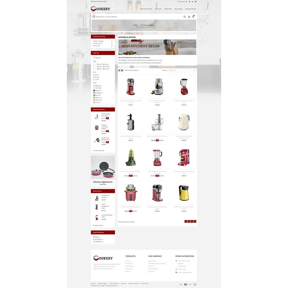 theme - Dom & Ogród - Cookery Store - 3