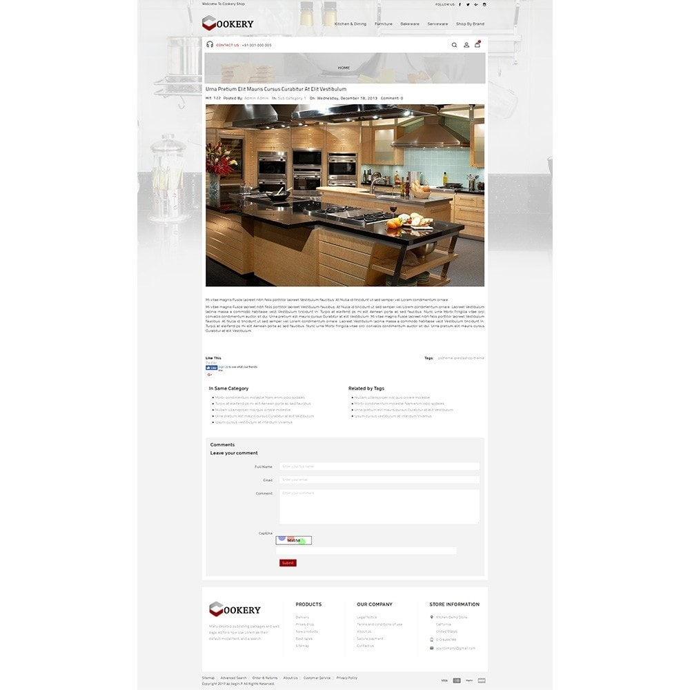theme - Dom & Ogród - Cookery Store - 6