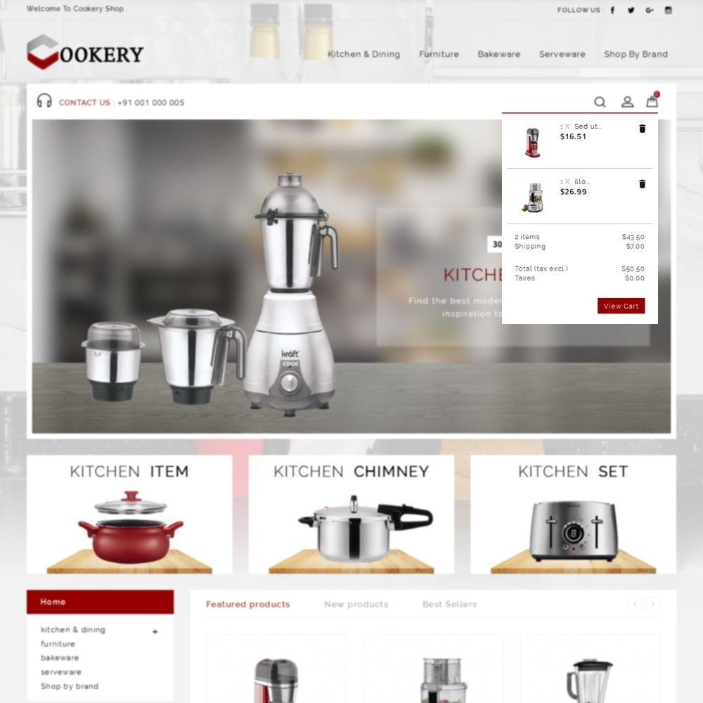 theme - Dom & Ogród - Cookery Store - 8