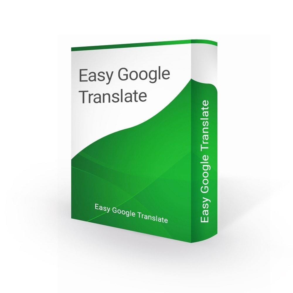 module - Międzynarodowość & Lokalizacja - Google Translate 105 Languages & Google Analytics - 1