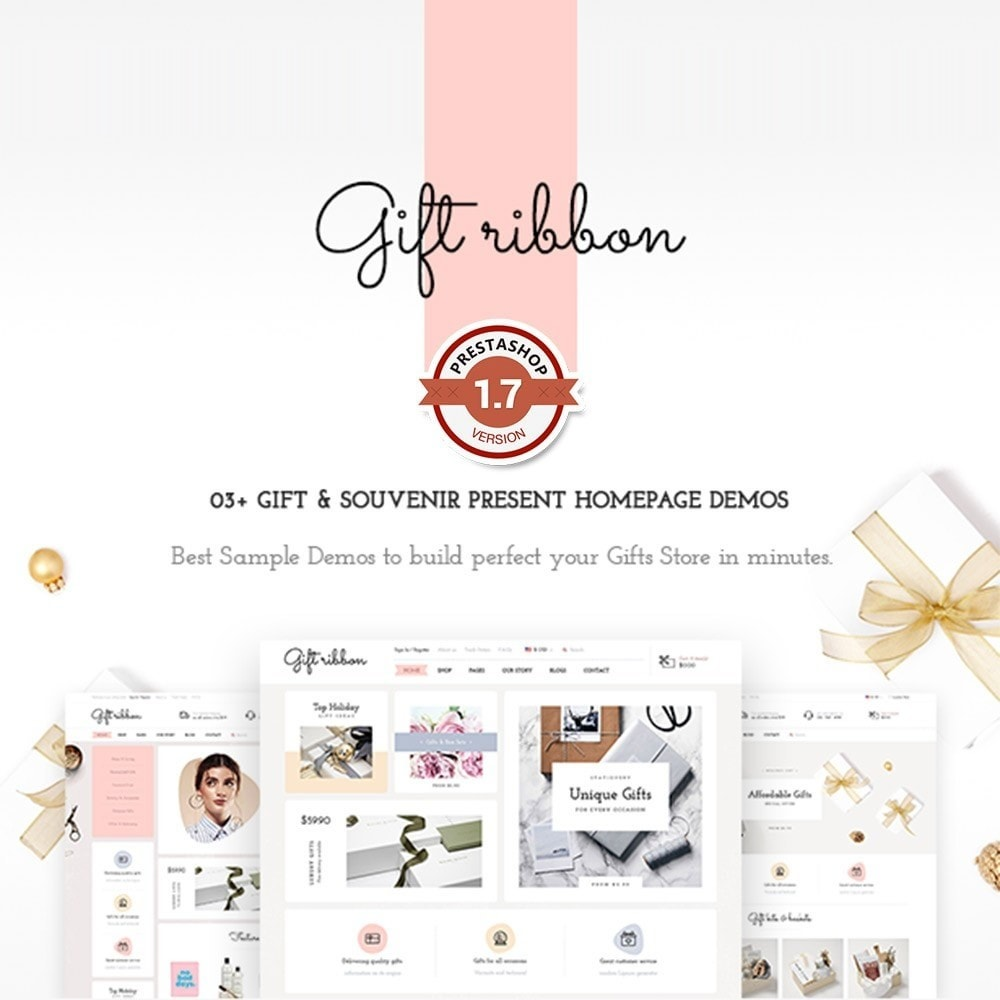 theme - Gifts, Flowers & Celebrations - Pts Giftribbon - 1