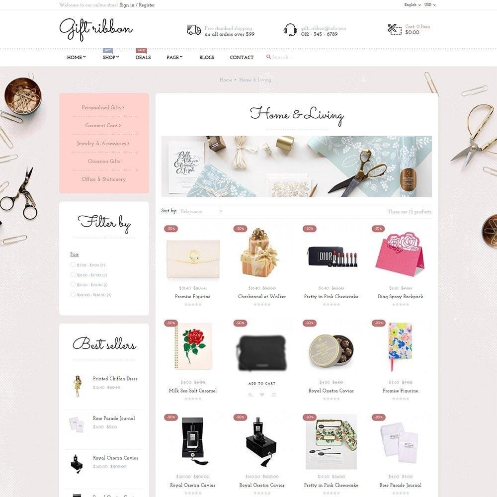 theme - Подарки, Цветы и праздничные товары - Pts Giftribbon - 3