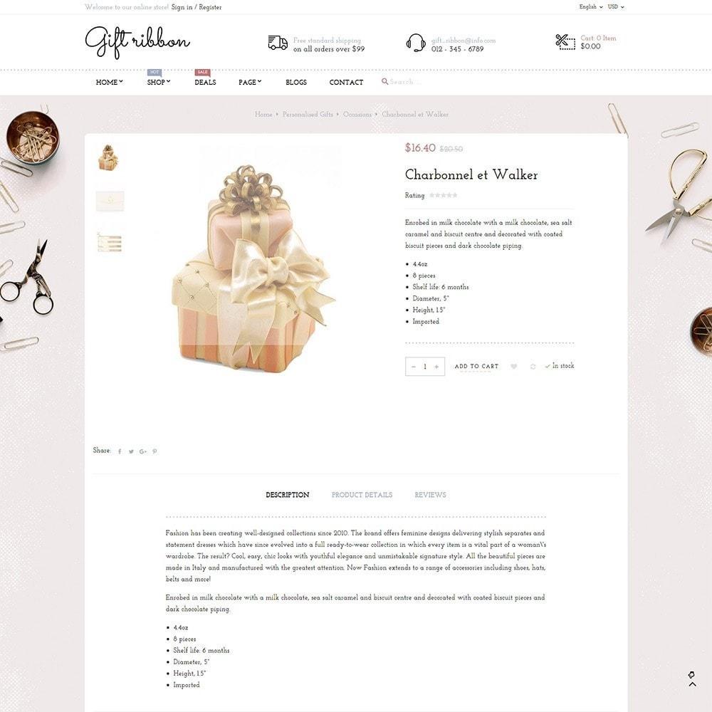 theme - Подарки, Цветы и праздничные товары - Pts Giftribbon - 4
