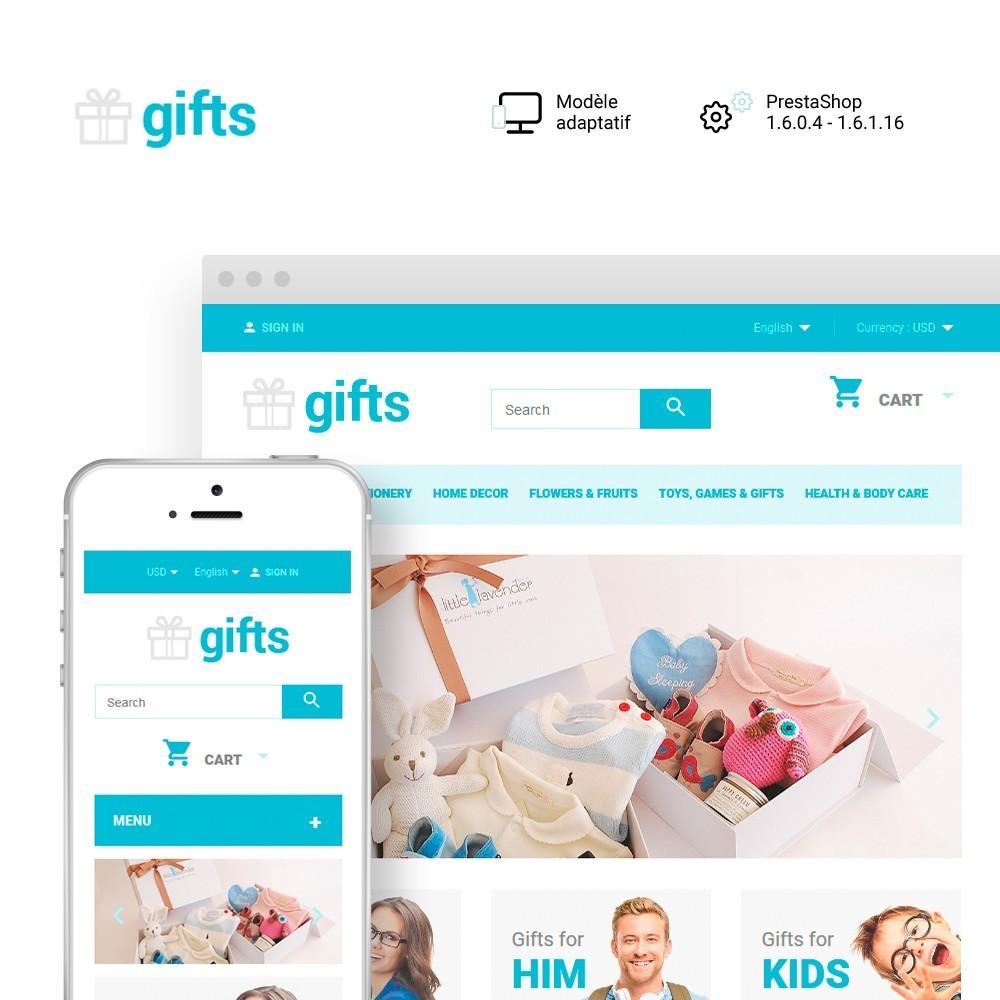 theme - Cadeaux, Fleurs et Fêtes - Gifts - 1