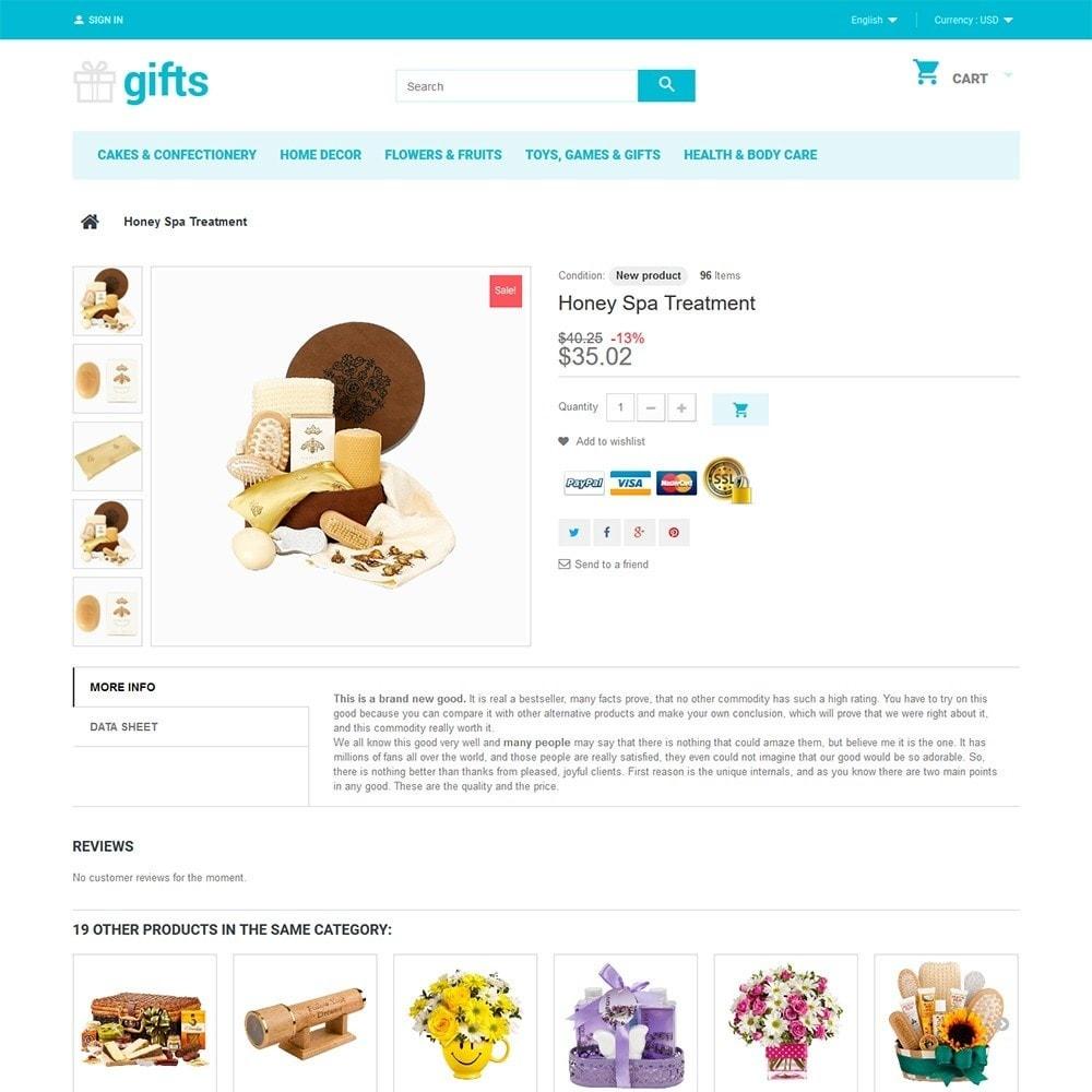 theme - Cadeaux, Fleurs et Fêtes - Gifts - 3