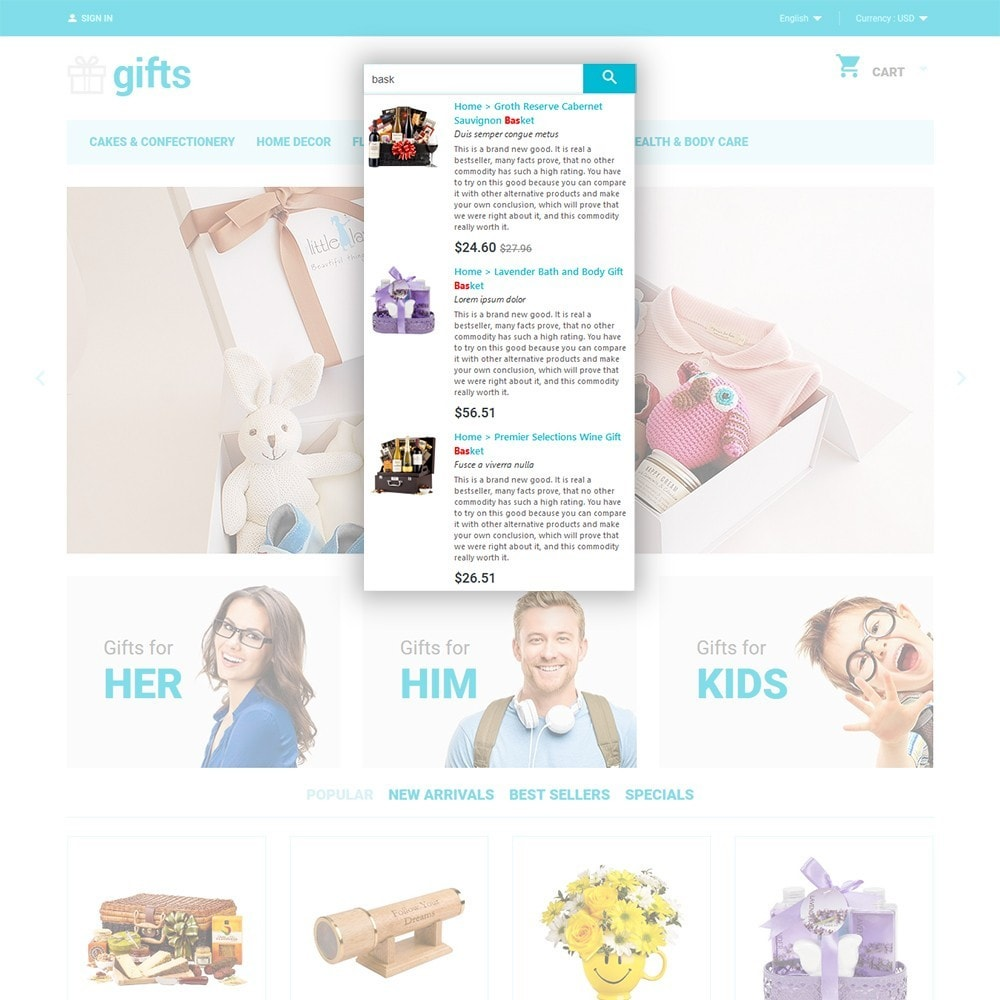 theme - Cadeaux, Fleurs et Fêtes - Gifts - 6