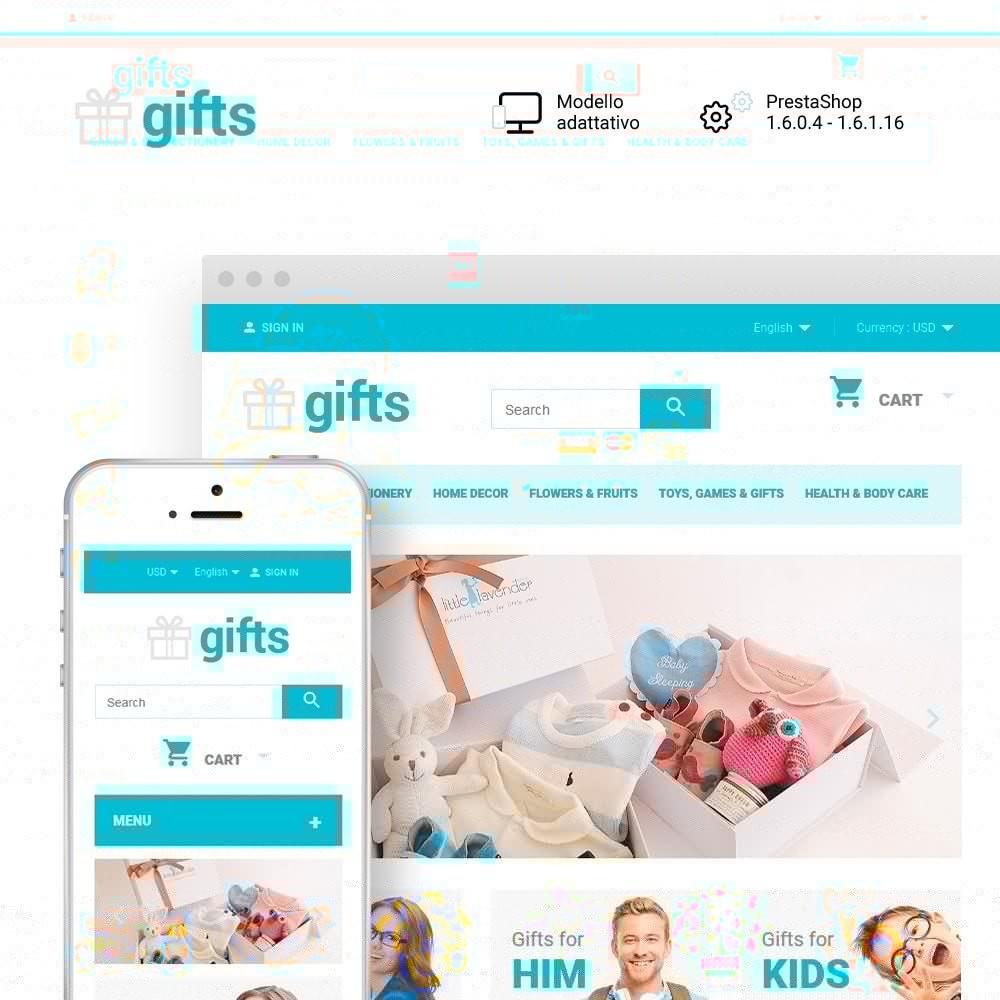 theme - Regali, Fiori & Feste - Gifts - 1