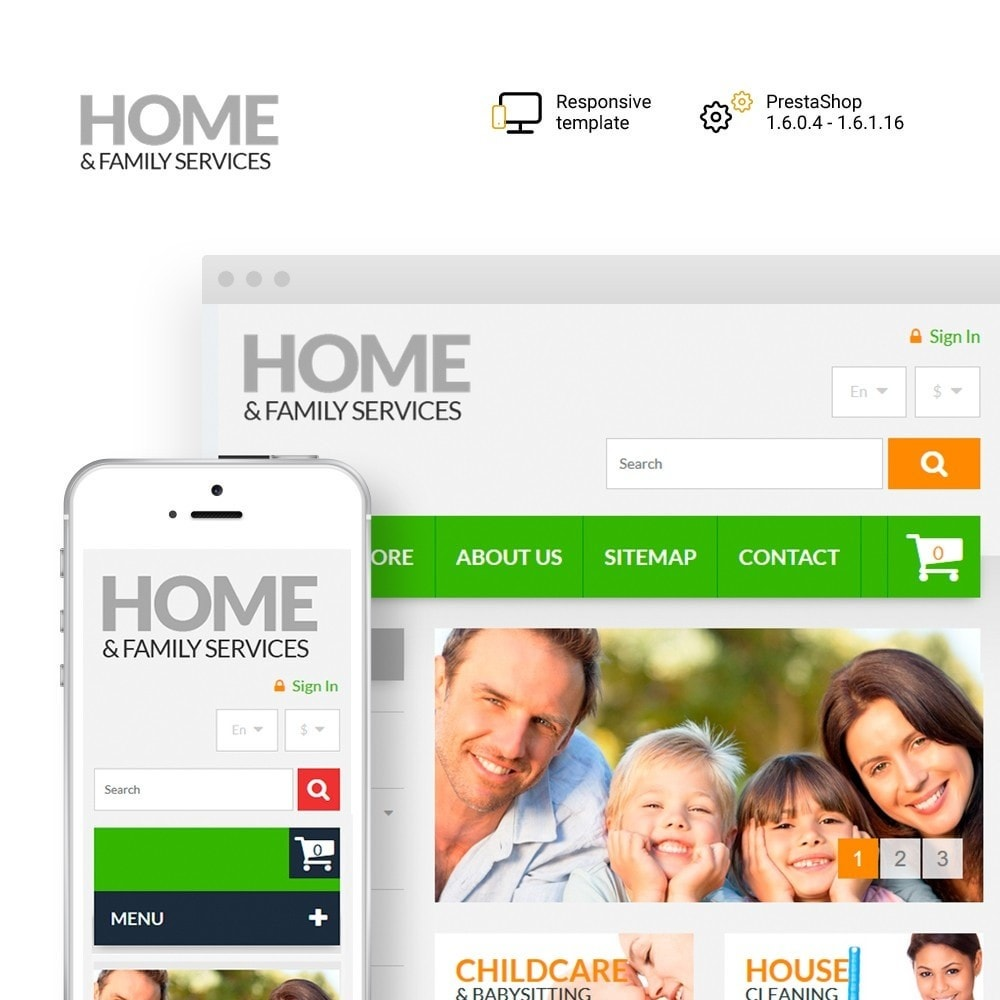 theme - Home & Garden - Home & Family Services - 1