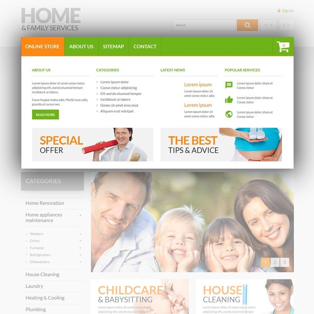 theme - Home & Garden - Home & Family Services - 5