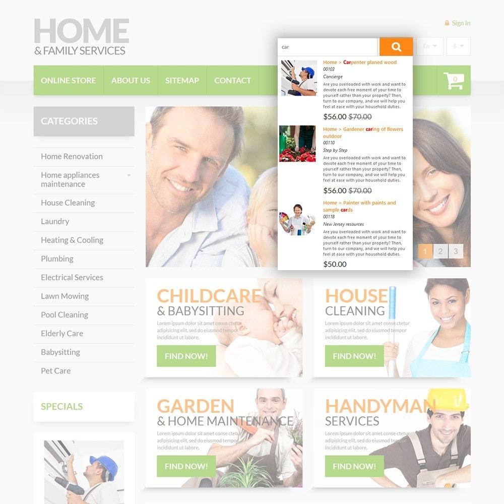 theme - Hogar y Jardín - Home & Family Services - 6