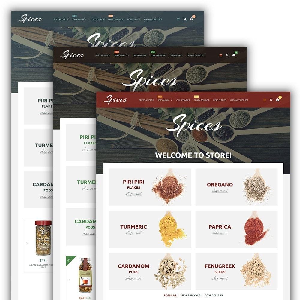 theme - Alimentation & Restauration - Spice Shop - 2