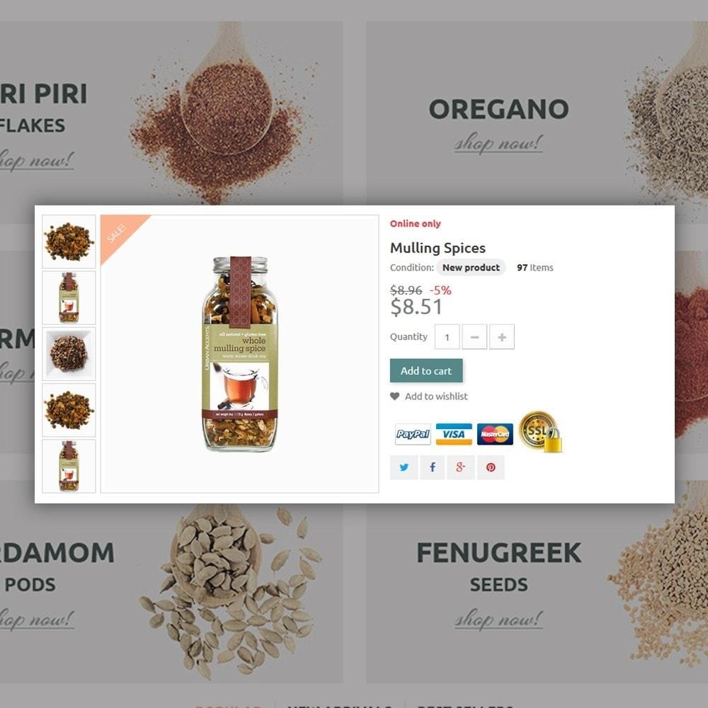 theme - Alimentation & Restauration - Spice Shop - 4