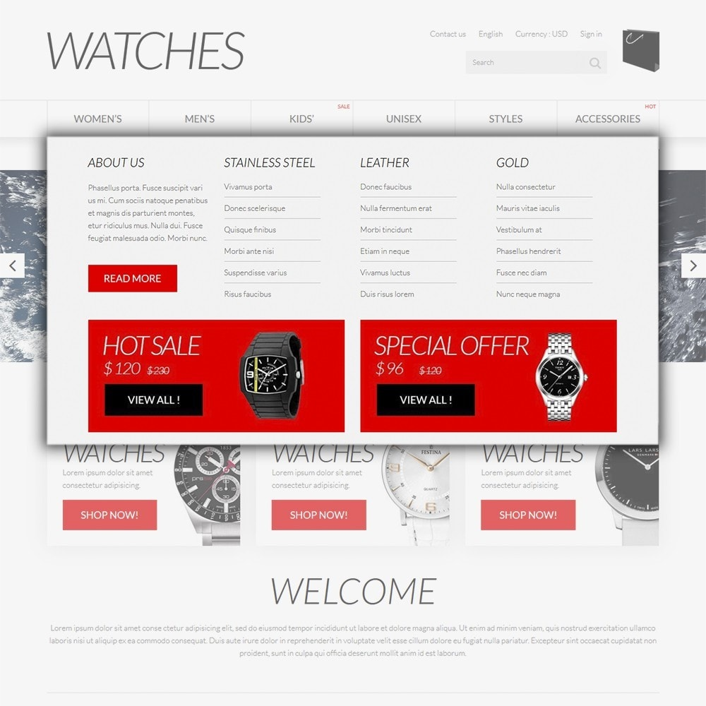 theme - Joalheria & Acessórios - Watches - 5