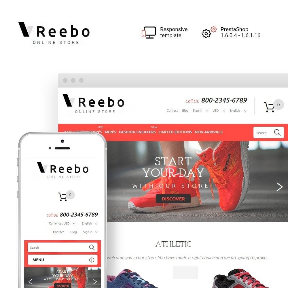 theme - Fashion & Shoes - Reebo - Shoe Store - 1