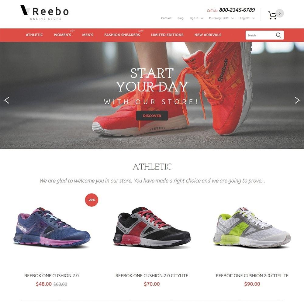 theme - Fashion & Shoes - Reebo - Shoe Store - 2