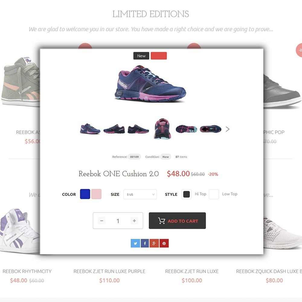 theme - Mode & Chaussures - Reebo - Shoe Store - 4