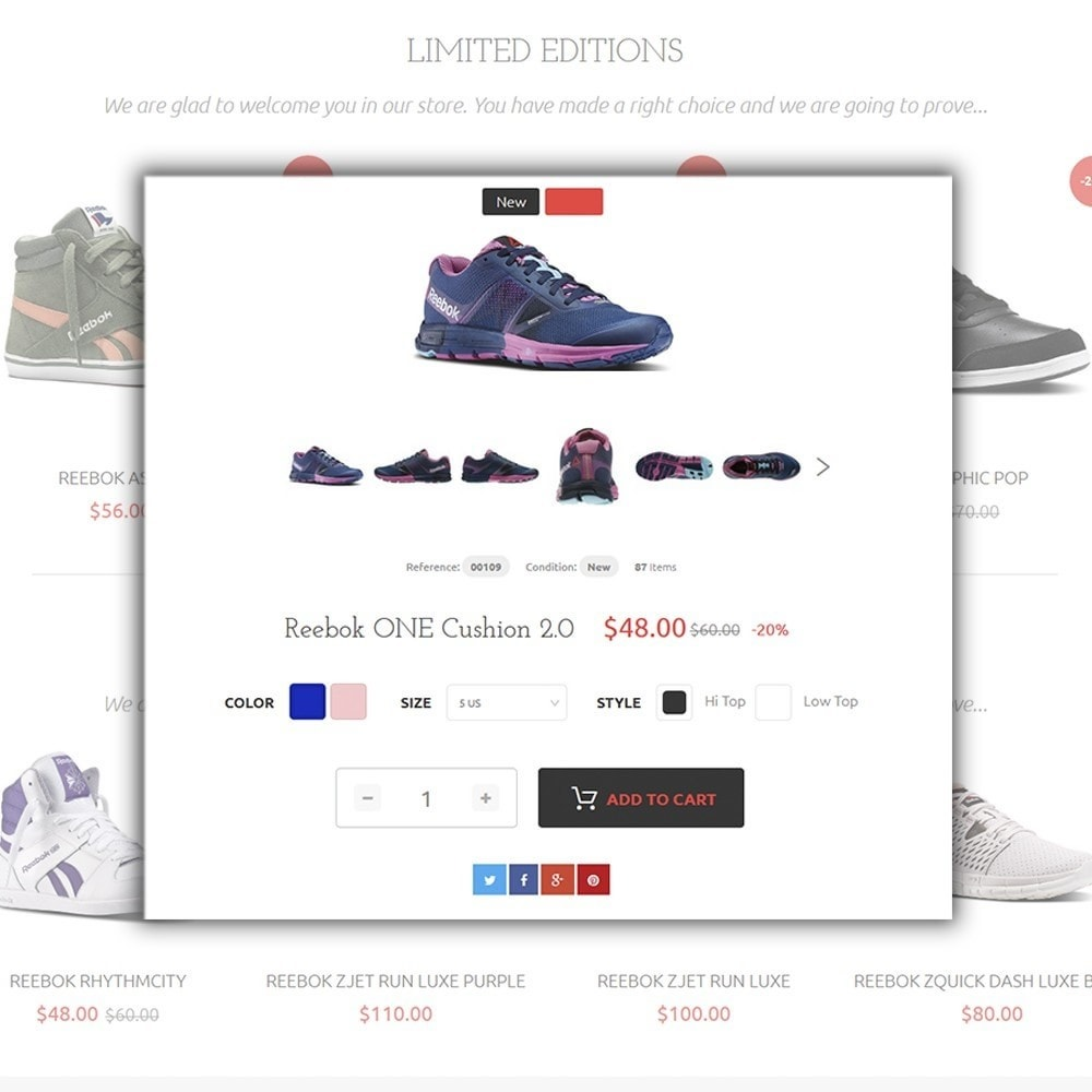 theme - Мода и обувь - Reebo - Shoe Store - 4