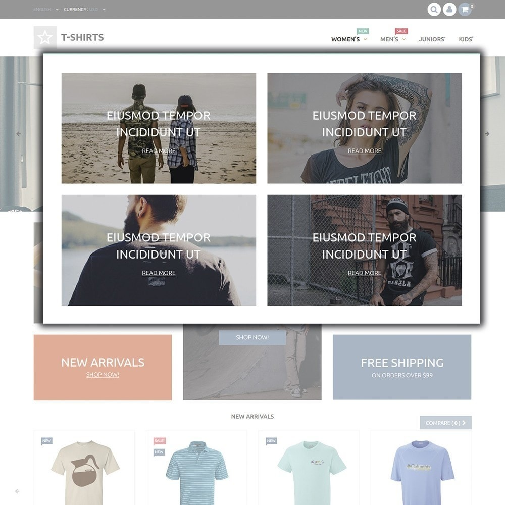 theme - Moda & Calçados - T-Shirts - 4