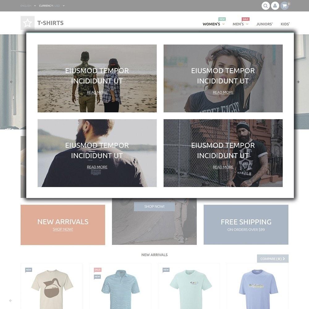 theme - Мода и обувь - T-Shirts - 4