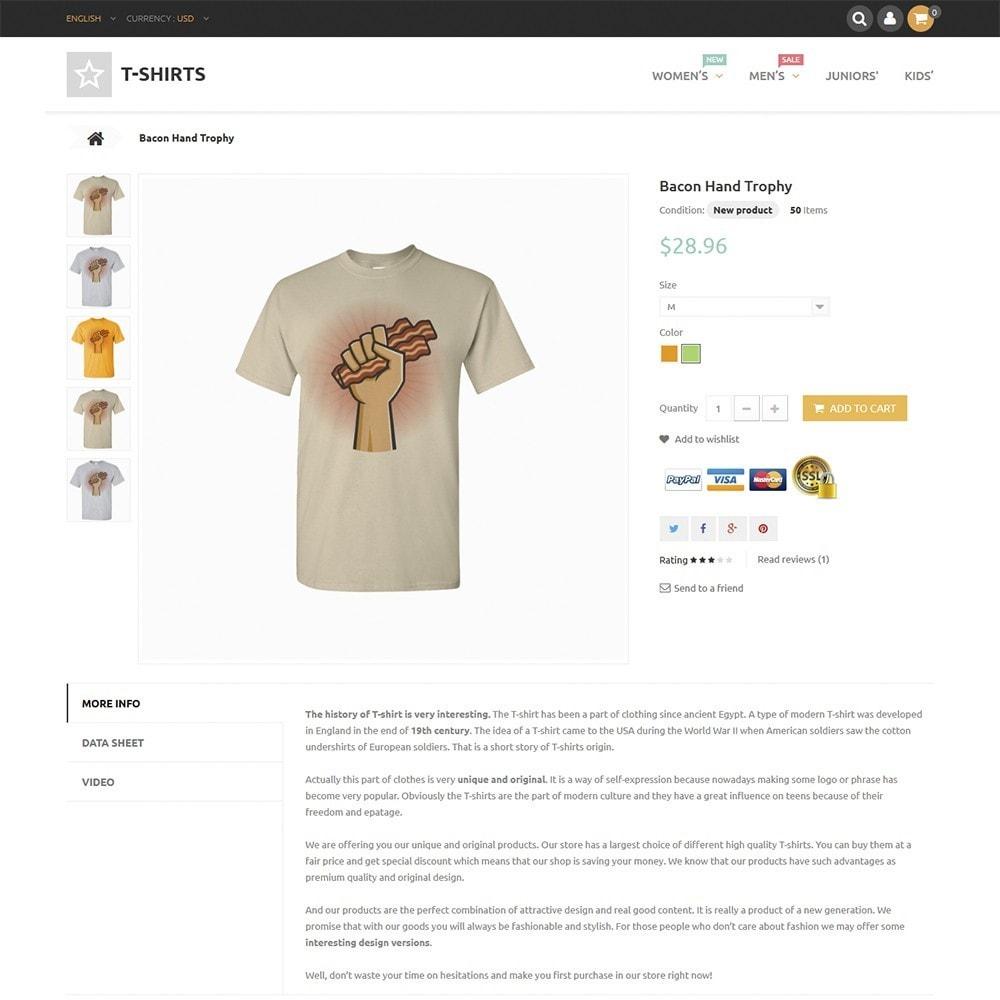 theme - Moda & Calzature - T-Shirts - 3