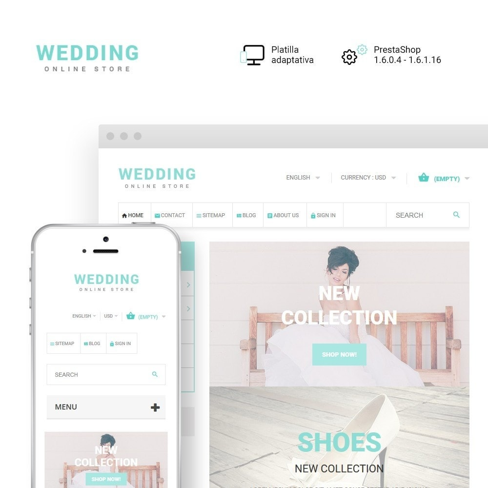 theme - Moda y Calzado - Wedding - 1