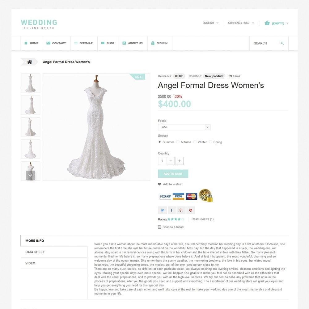 theme - Мода и обувь - Wedding - 3