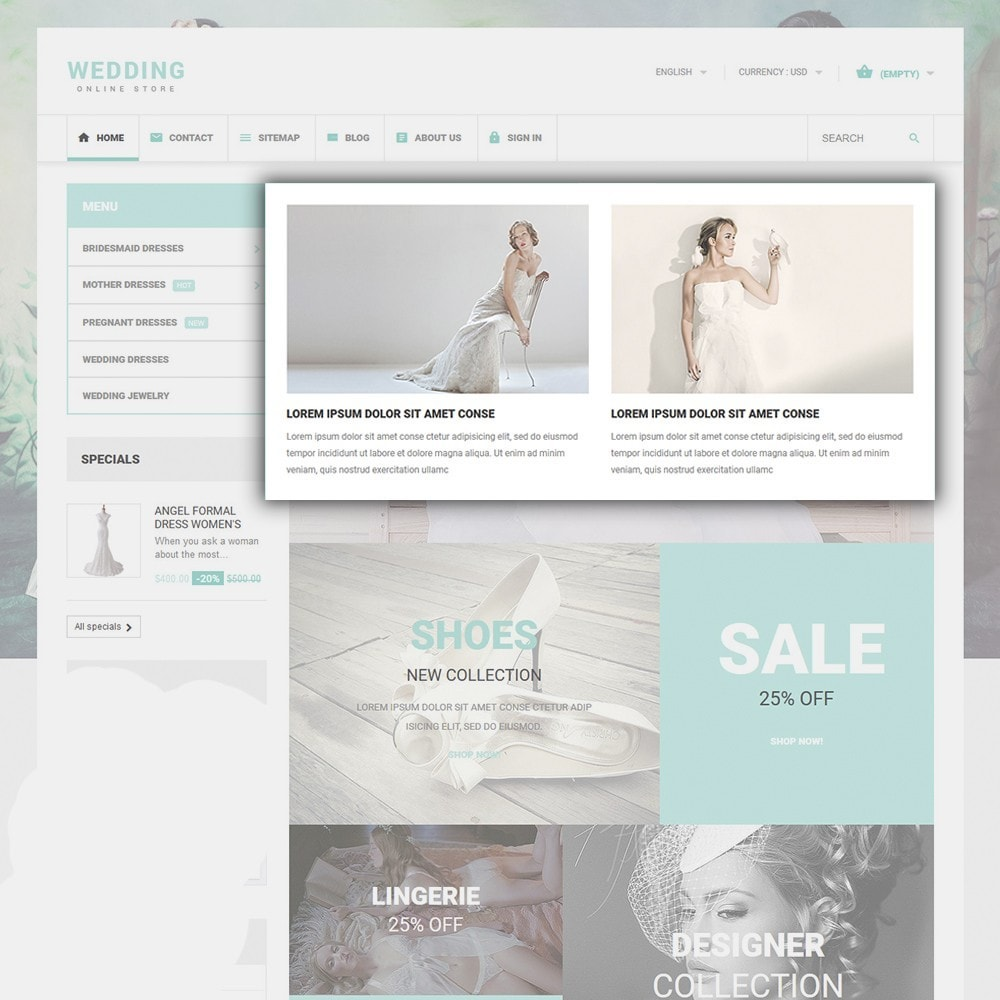 theme - Moda & Calzature - Wedding - 5