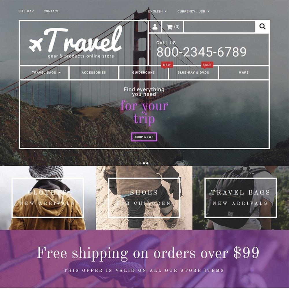 theme - Deportes, Actividades y Viajes - Travel - Gear & Product Online Store - 2