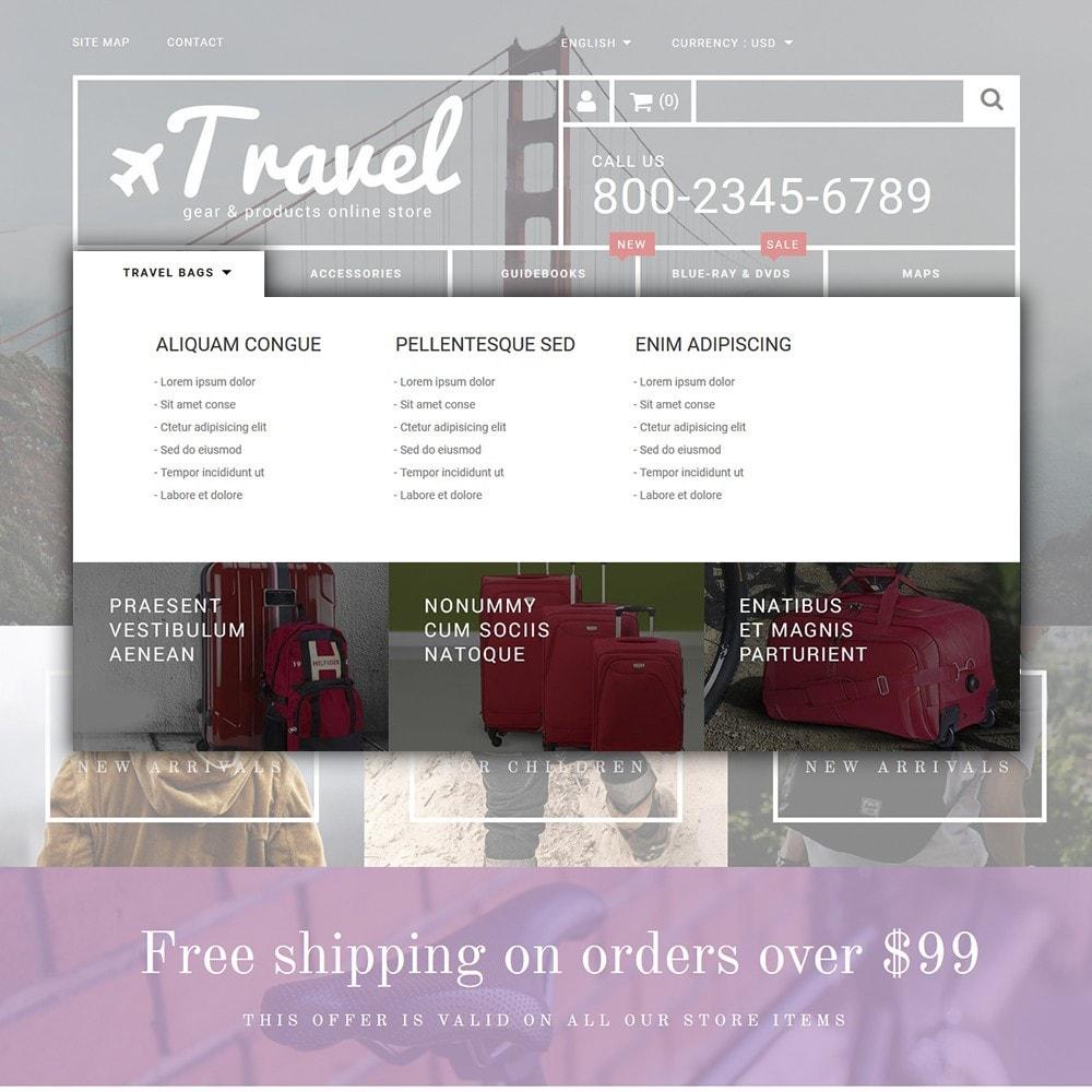theme - Sport, Attività & Viaggi - Travel - Gear & Product Online Store - 5