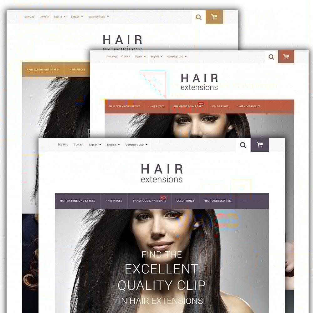 theme - Mode & Chaussures - Hair Extensions - 2