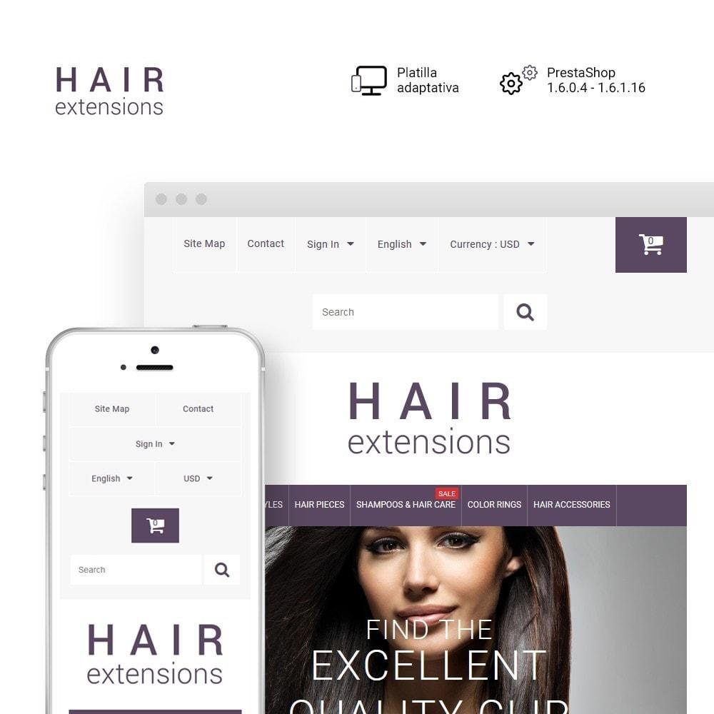 theme - Moda y Calzado - Hair Extensions - 1