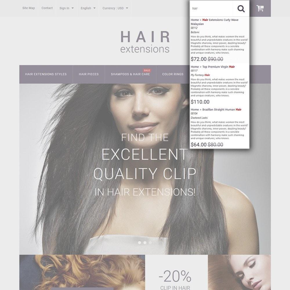 theme - Moda y Calzado - Hair Extensions - 6