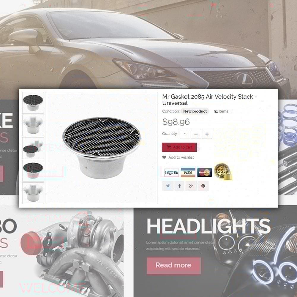 theme - Samochody - Spare Parts Store - 4
