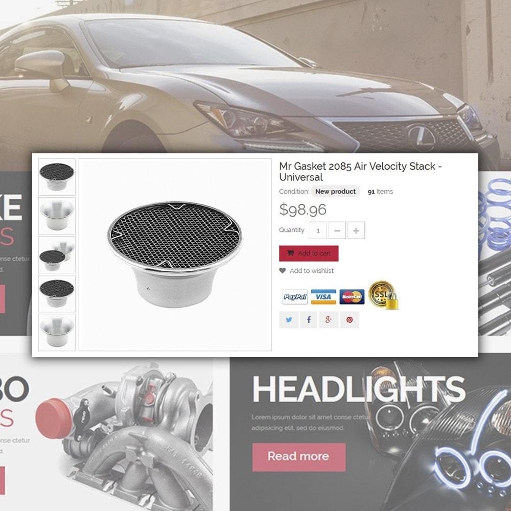theme - Auto & Moto - magasin de pièces de rechange - 4