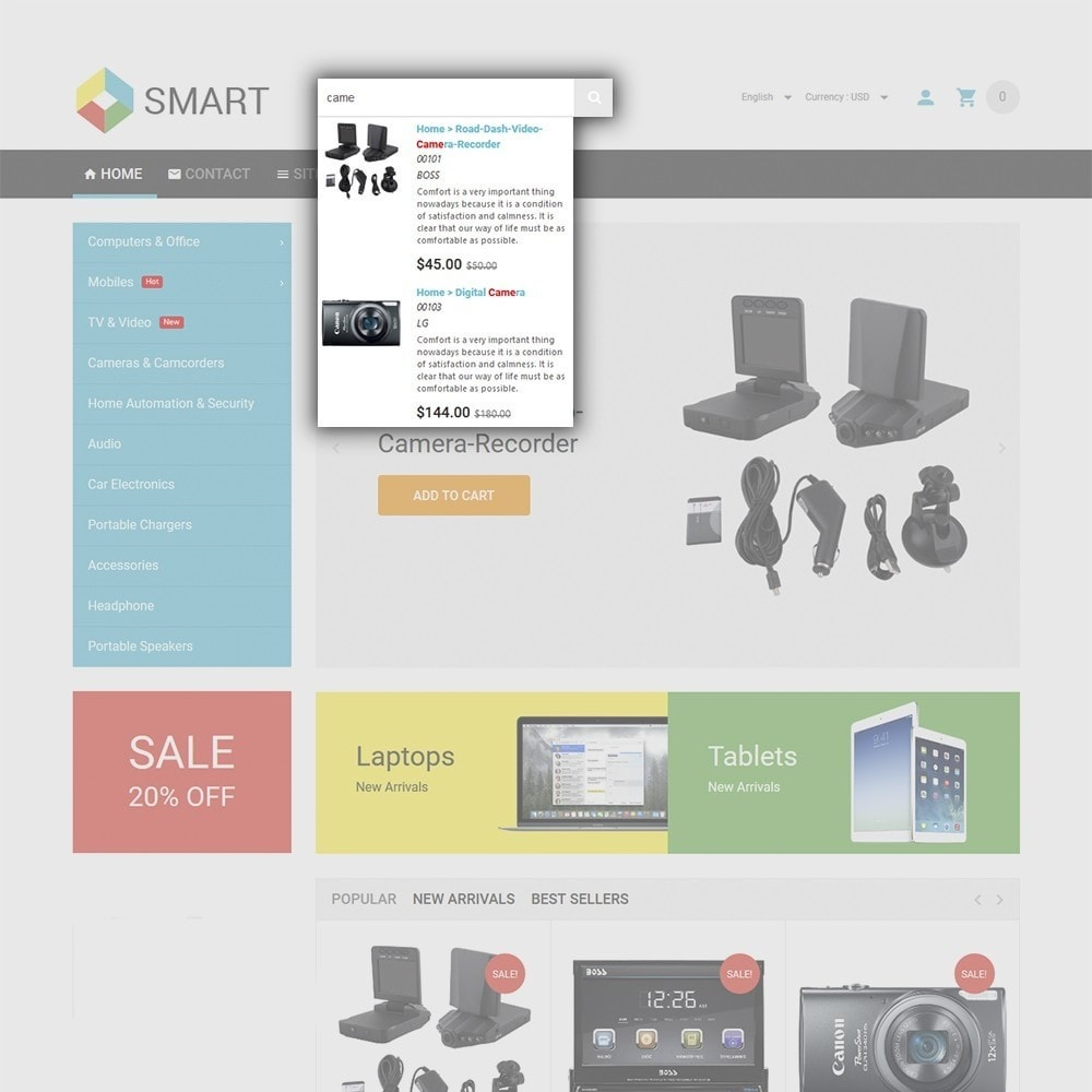 theme - Electronique & High Tech - Smart Electronics - 6
