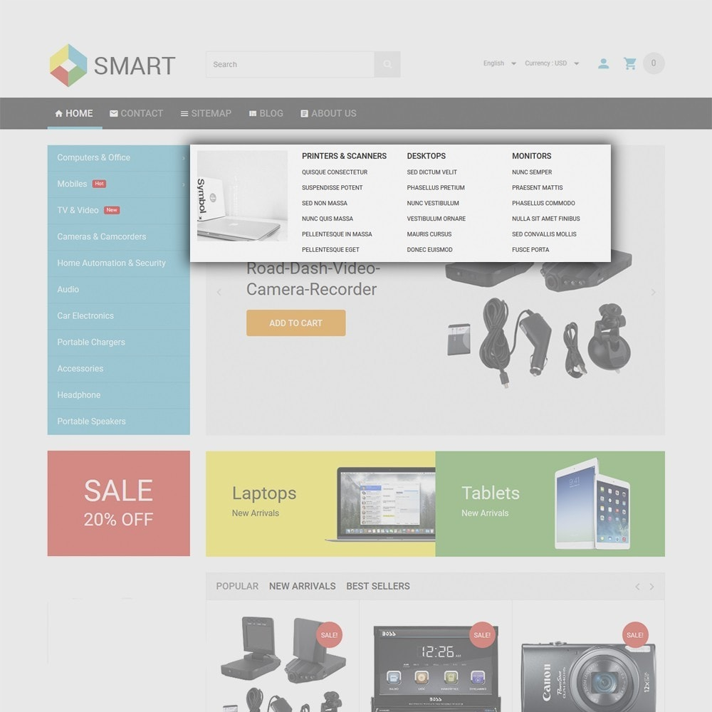 theme - Электроника и компьютеры - Smart Electronics - 5