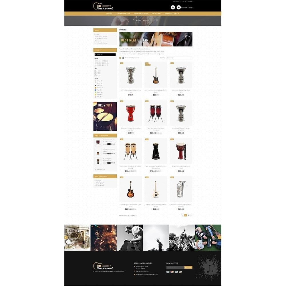 theme - Kunst & Cultuur - Music Store - 3
